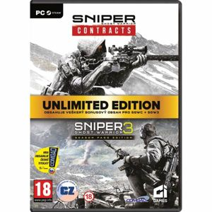Sniper: Ghost Warrior Contracts Unlimited Edition CZ PC Code-in-a-Box