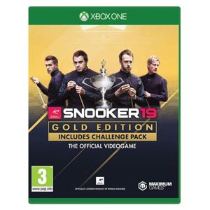 Snooker 19 (Gold Edition) XBOX ONE