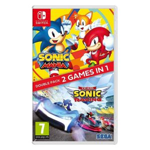 Sonic Mania & Team Sonic Racing (Double Pack) NSW