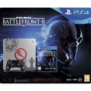 Sony PlayStation 4 Slim 1TB (Limited Edition) + Star Wars: Battlefront 2 (Elite Trooper Deluxe Edition) CUH-2016B-B01