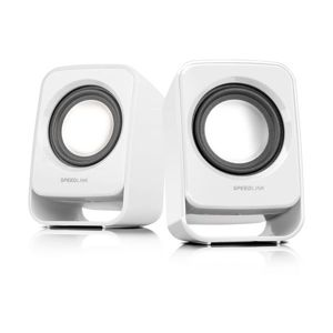 Speed-Link Snappy Stereo Speakers, white SL-8002-WE