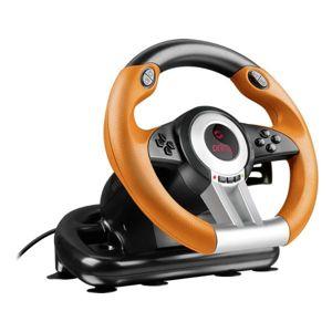 Speedlink Drift O.Z. Racing Wheel PC, black-orange - OPENBOX (Rozbalený tovar s plnou zárukou) SL-6695-BKOR-01