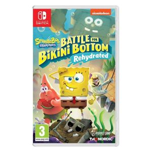 SpongeBob SquarePants: Battle for Bikini Bottom (Rehydrated) NSW