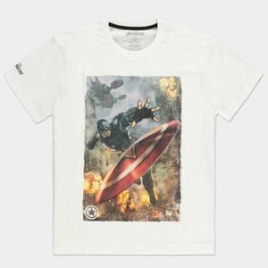 Tričko Avengers Captain America (Marvel) 2XL TS506150AVG-2XL
