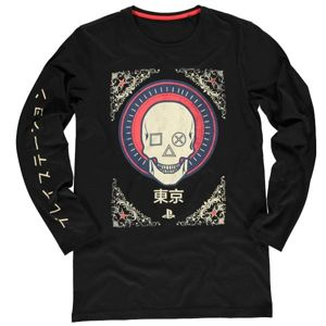Tričko PlayStation Skull XL LS674501SNY-XL
