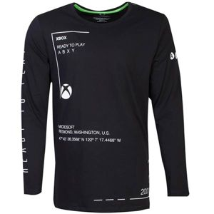 Tričko Xbox Ready to play 2XL LS271133XBX-2XL