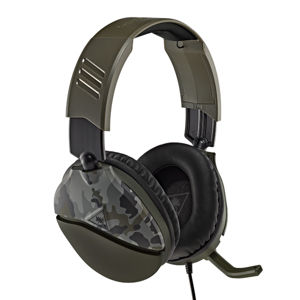 Turtle Beach Recon 70 Headset, zelená kamufláž TBS-6455-02