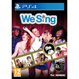 We Sing + 2 mikrofóny (Microphone Bundle) PS4
