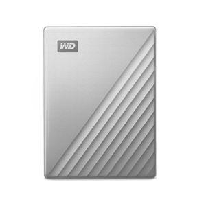 Western Digital HDD My Passport Ultra, 2TB, USB-C, Silver (WDBYVG0020BBK-WESN) WDBC3C0020BSL-WESN