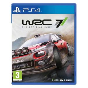 WRC 7: The Official Game PS4
