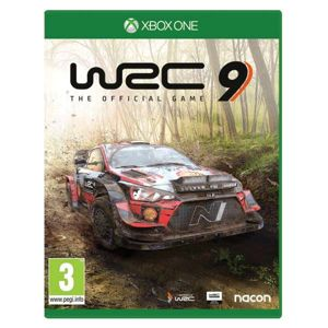 WRC 9: The Official Game XBOX ONE