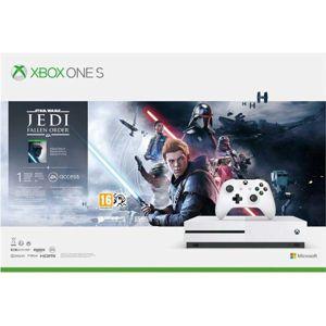 Xbox One S 1TB + Star Wars Jedi: Fallen Order (Deluxe Edition) - OPENBOX (Rozbalený tovar s plnou zárukou) 234-01098